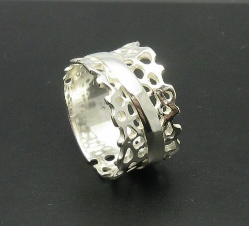 Sterling silver ring solid 925 Band R000602 Empress