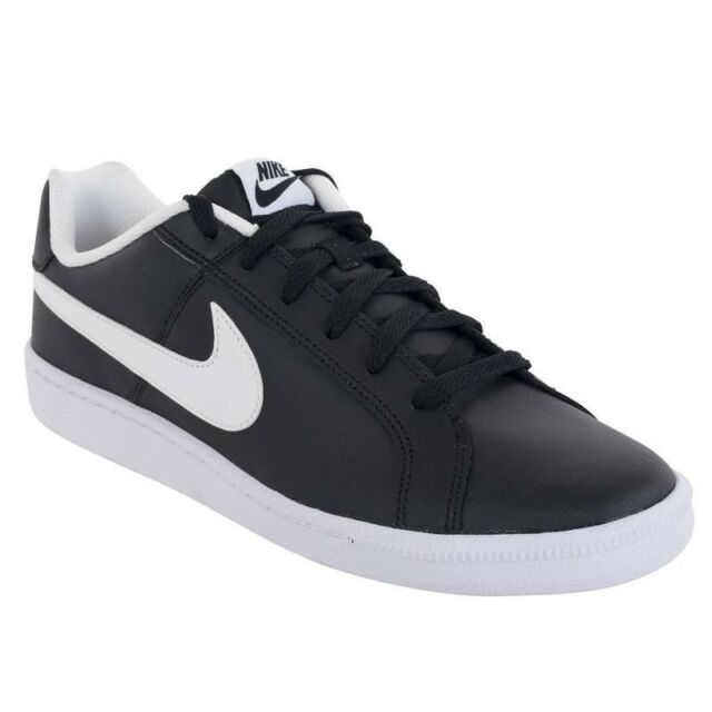 bd58bb704ad7ed Nike Court Royale Mens Classic Retro Leather Black Trainers UK 11  BRAND  NEW