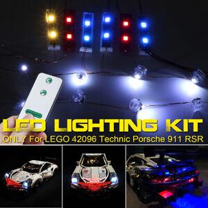 RC-LED-Light-Lighting-Kit-ONLY-For-LEGO-42096-Technic-For-Porsche-911-RSR-Bricks