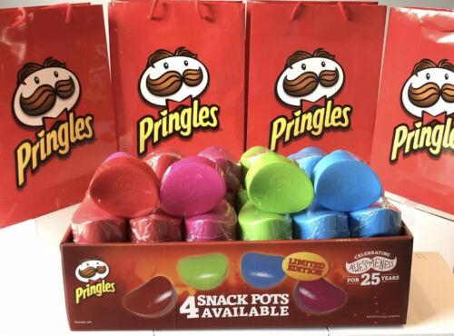 Pringles Pop Box Snack Pots Limited Edition 25th Anniversary