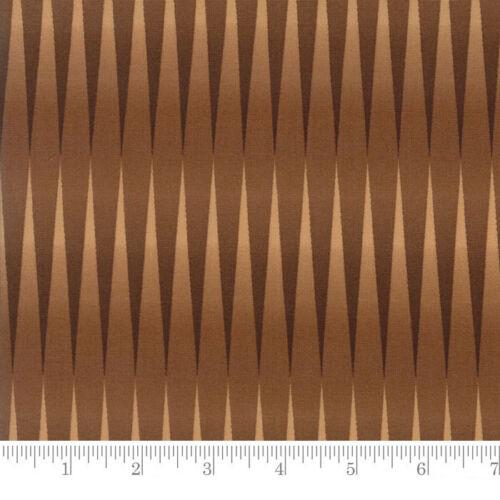 Moda Fabric Preservation Variegated Stripe Brown Per 1//4 Metre