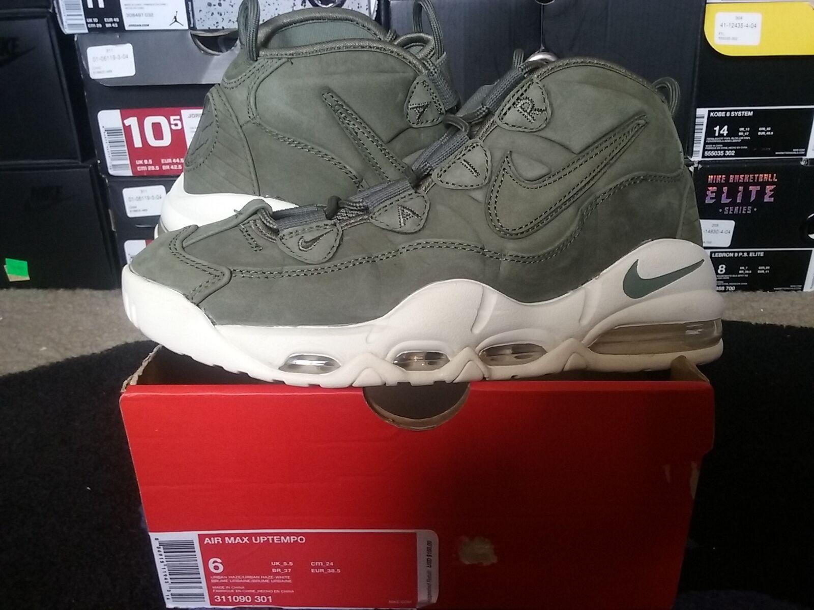 Nike Air Max Uptempo Tempo Retro Urban Haze White Olive Green Pippen 311090 301