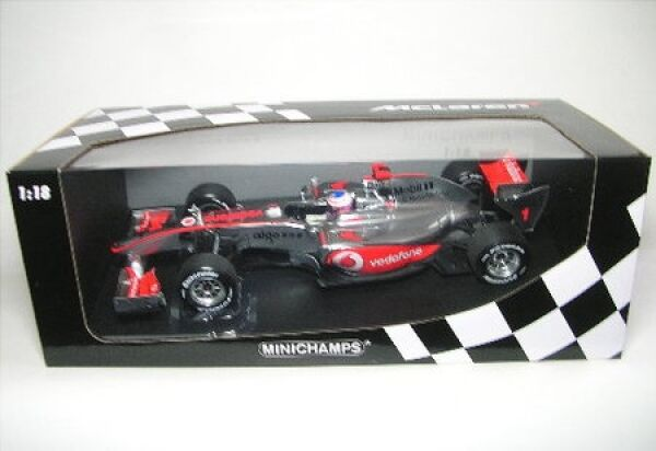 McLaren Mercedes No. 1 J. Button formule 1 showcar 2010