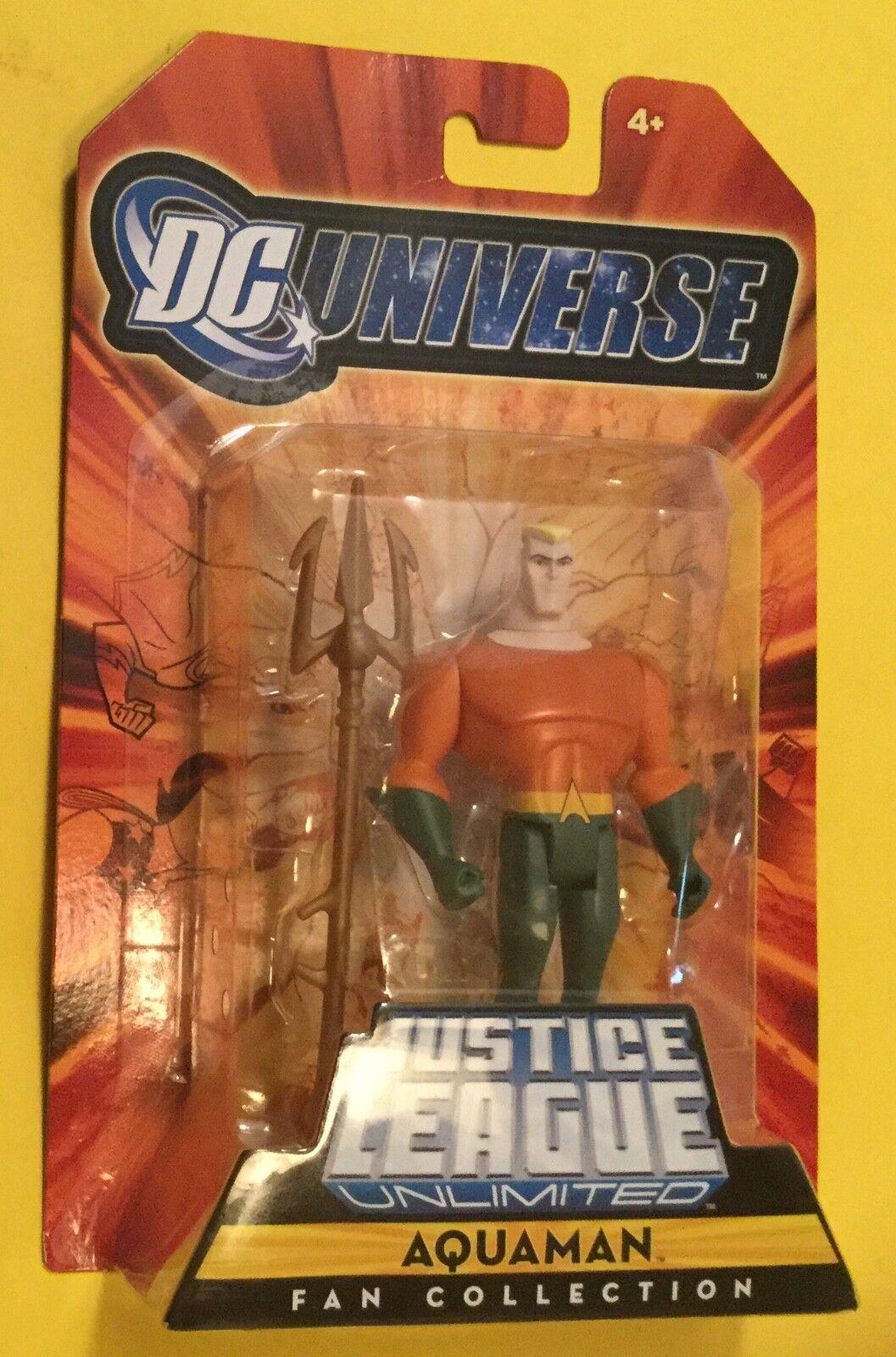Aquauomo FAN COLLECTION Justice  League Unlimited 4  Mattel DC Universe JLU MOC  ti aspetto