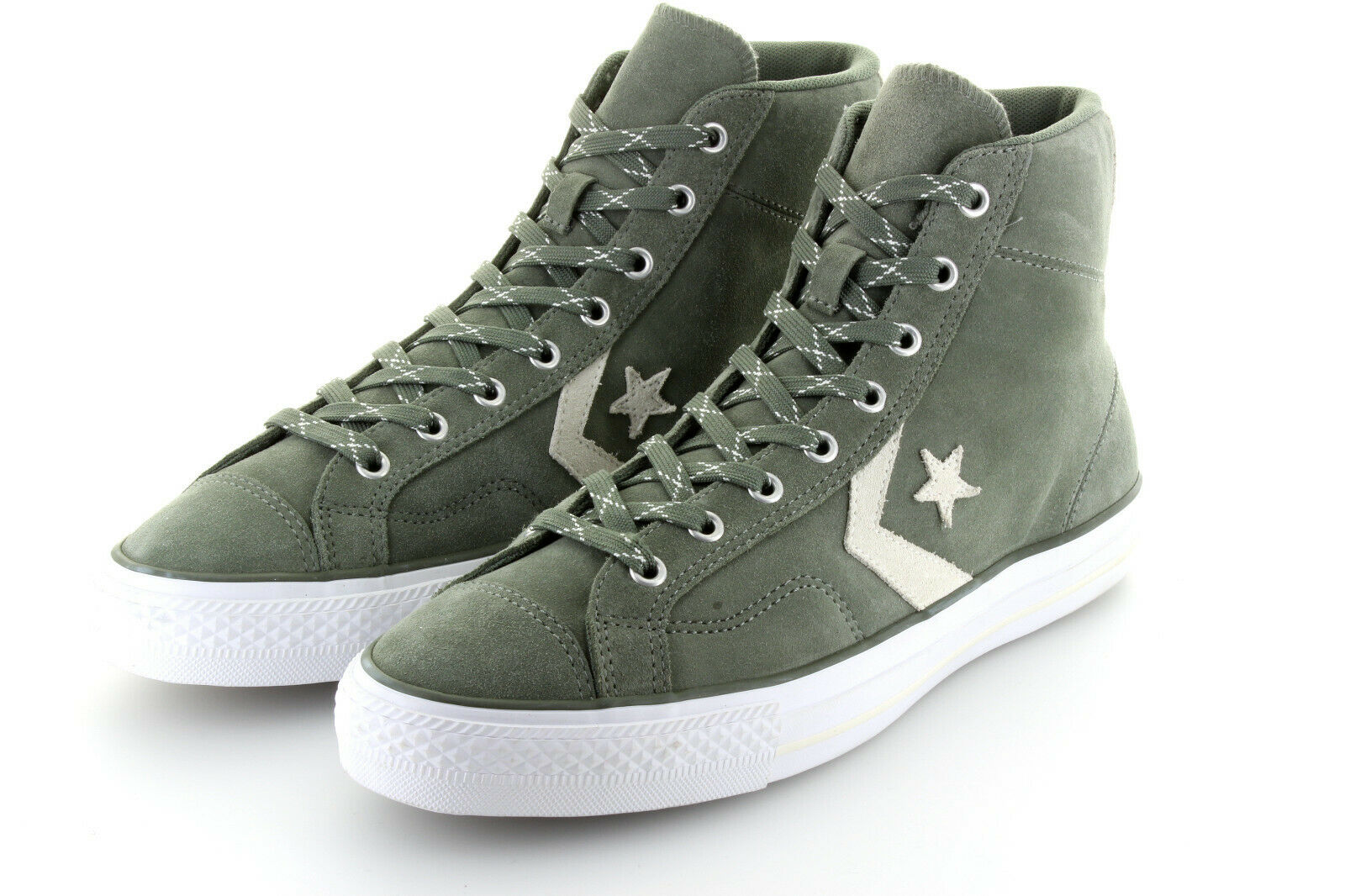 Converse Cons Star Player Hi Olive Submarine Wildleder Suede Gr. 42,5   43,5