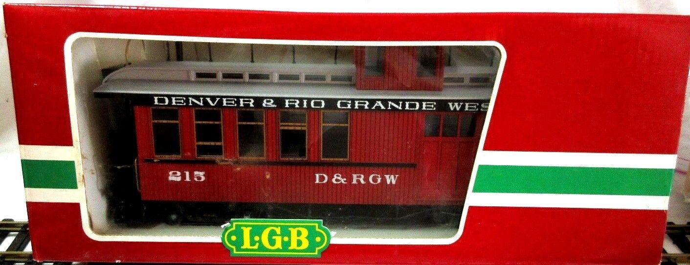 LGB 4075 D & RGW  CABOOSE
