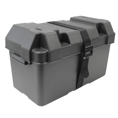 Batteriekasten XL Batteriebox Batterie Kasten Box Kiste Motorboot Boot Extragroß