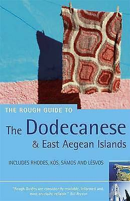 """""""VERY GOOD"""" The Rough Guide to the Dodecanese and East Aegean Islands - 4th Edit"""