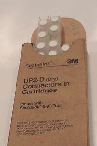 3M Scotchlok UR2-D Telephone Wire Splicing Connectors 2-3 Wire ...