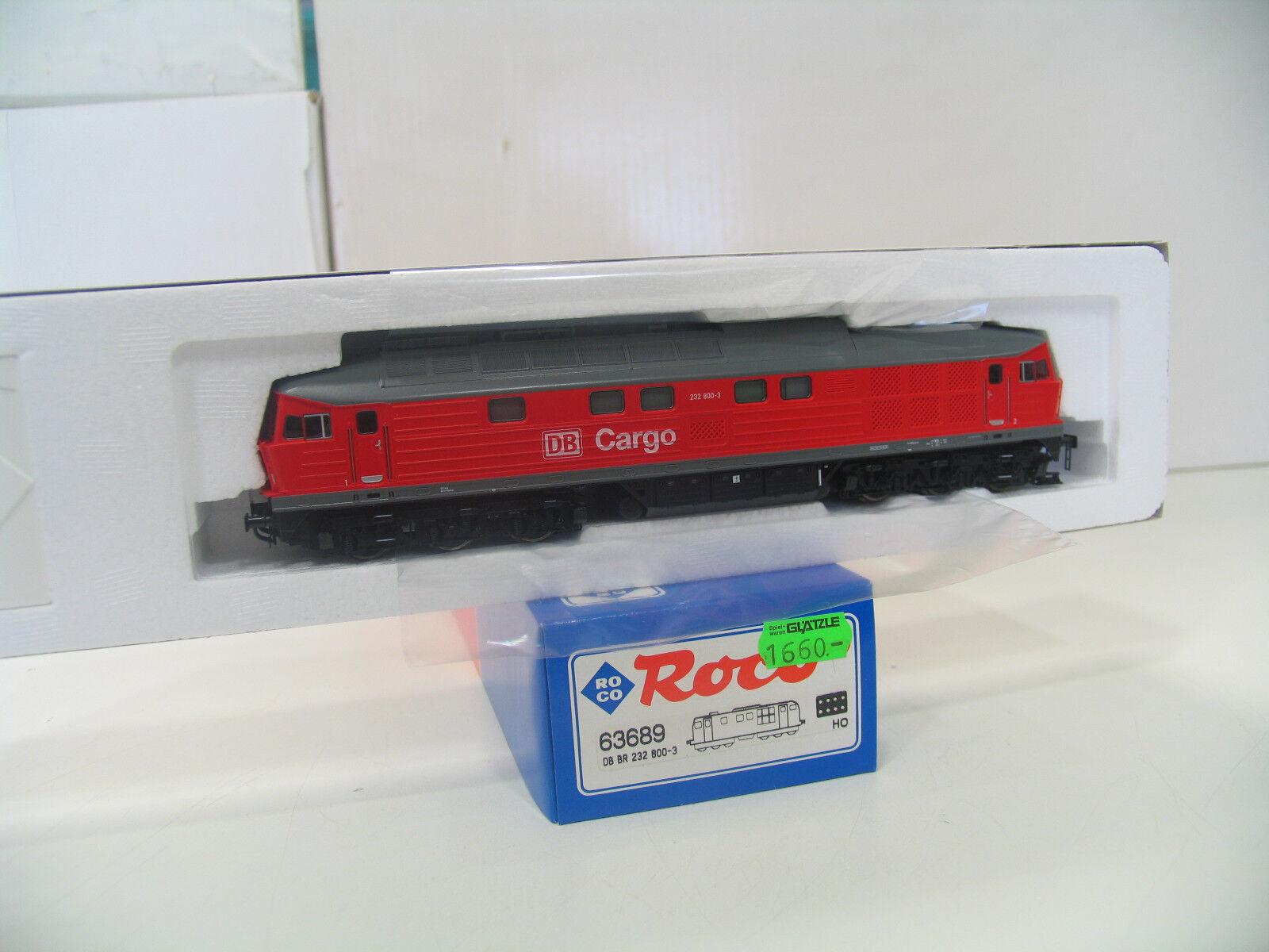 ROCO 63689 DIESEL BR 232 232 232 rosso della DB CARGO a155 8afe94