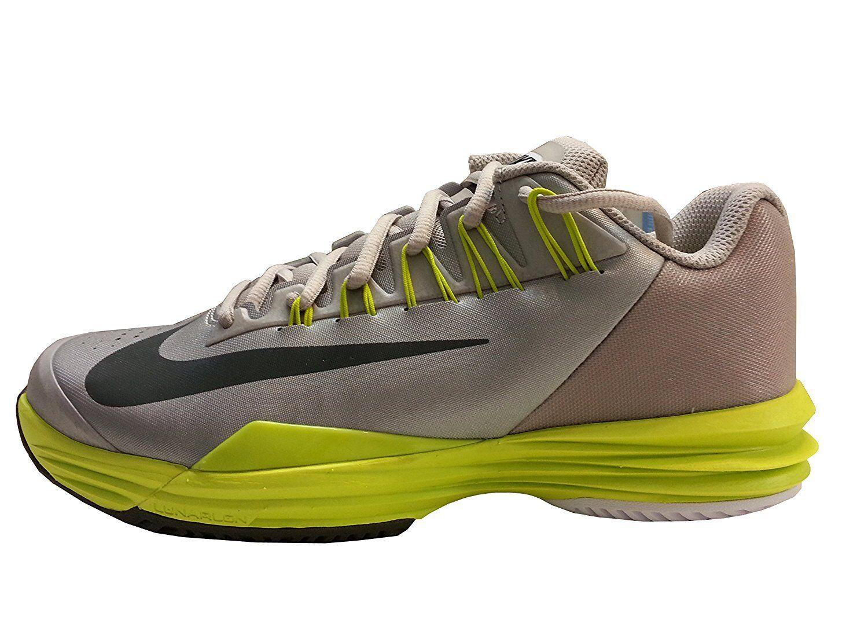 Nike Women's WMNS Lunar Ballistec, Size 9 (631648-903) METALLIC/GREY/VENOM GREEN
