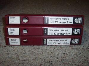 1991 1993 porsche 911 964 3 3l turbo workshop shop service repair rh ebay com 1991 Porsche 944 1994 Porsche 911
