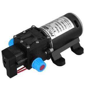 100W Electric High Pressure Self-priming Diaphragm Water 1Mpa Pump 12V 5.5L//min