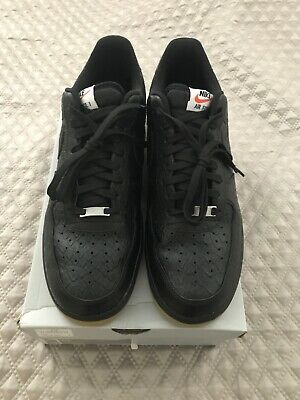 Nike Air Force 1 low '07 LV8 Python In Black And Gum Size 13 | eBay