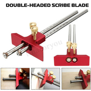 Adjustable-Aluminum-Alloy-Woodworking-Marking-Gauge-Wood-Scribe-Mortise-DIY