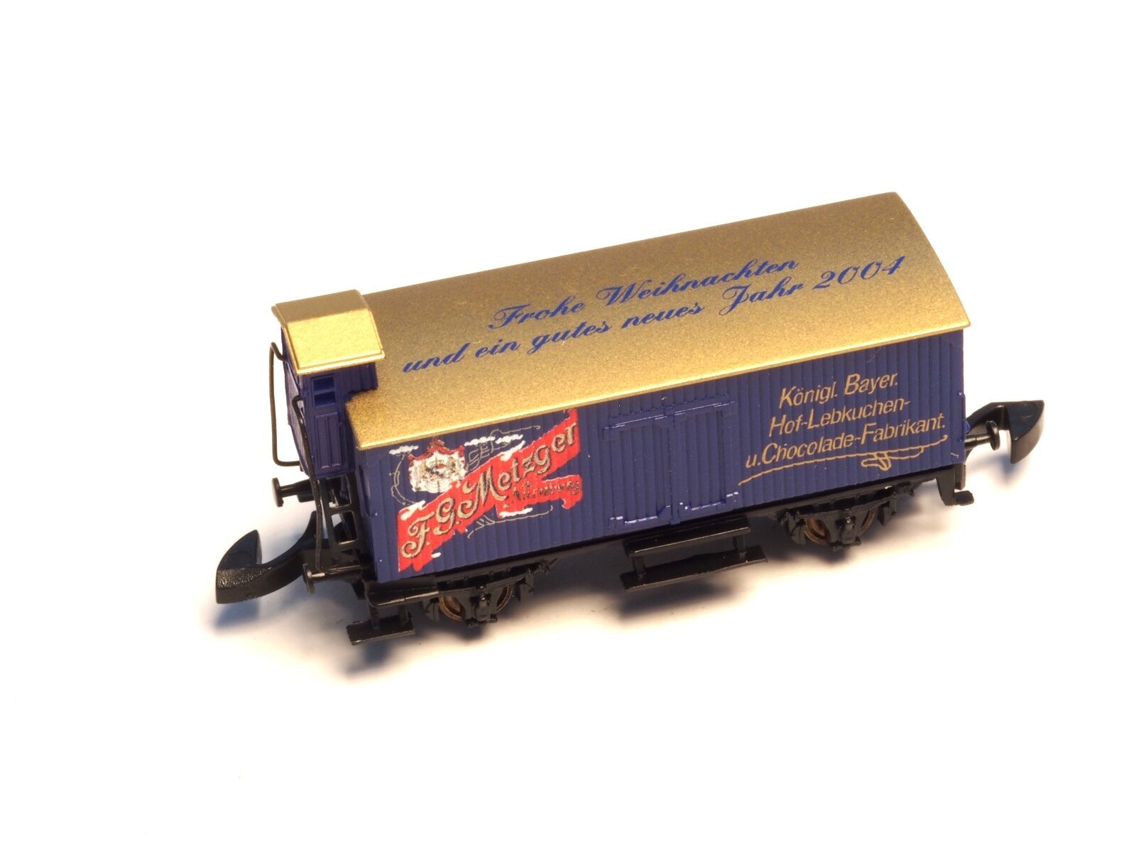 Marklin Z-scale Xmas & New Year's  car 2004 Special edition Lebkuchen