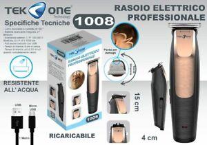 Rasoio Elettrico Taglia Capelli Regola Barba Baffi e Basette Linq Rfc-1102