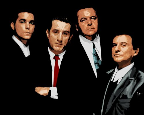 Canvas Pictures Classic Gangster Movie Wall Art Large Poster Goodfellas