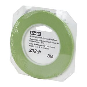 3M 26344 Scotch 6 mm x 55 m 233+ Performance Green Masking Tape