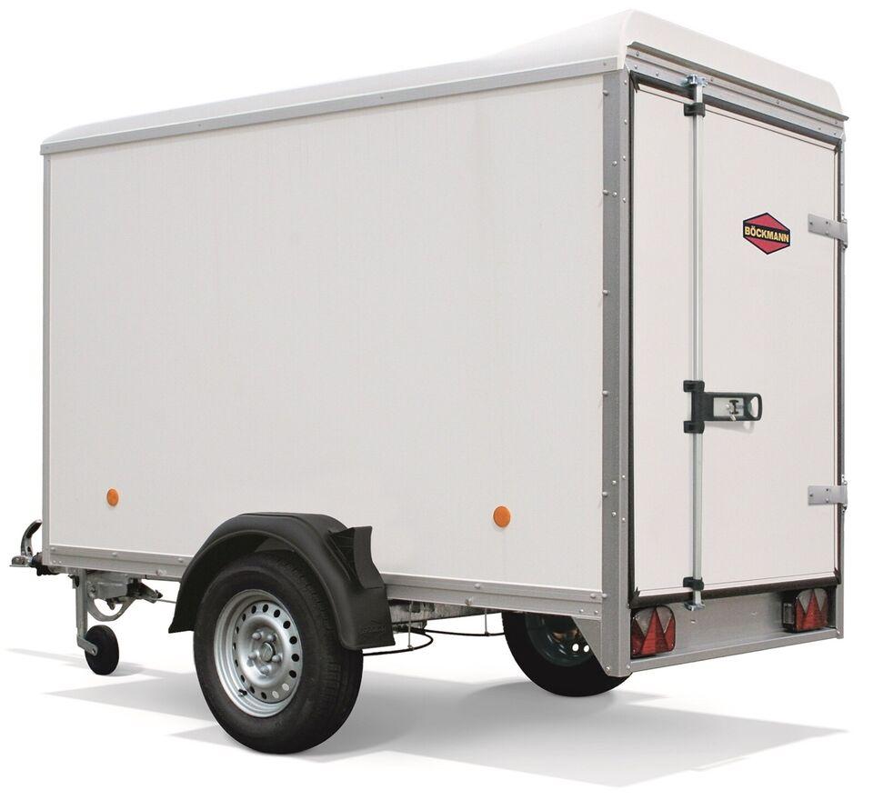Trailer Böckmann KT3015/20H Hvid 2000kg, lastevne (kg):