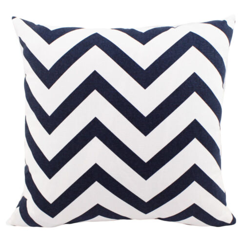 Cushion Cover Waves Printed Office Sofa Car Large Pillowcase Home Decoration