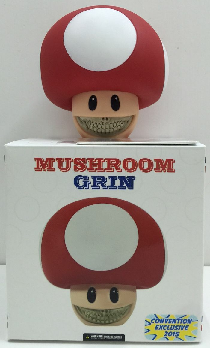 Ron English x Mindstyle x Mushroom Grin Exclusive Original Colour Limited NEW