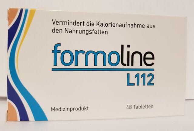 Formoline L 112 Tabletten, 48 St.TABLETTEN) zum Abnehmen, Diät Produkt )