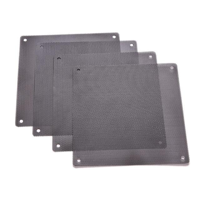 4pcs 90x90mm Computer Mesh Fan Cooler Dust Filter Dustproof Case Cover E/&F
