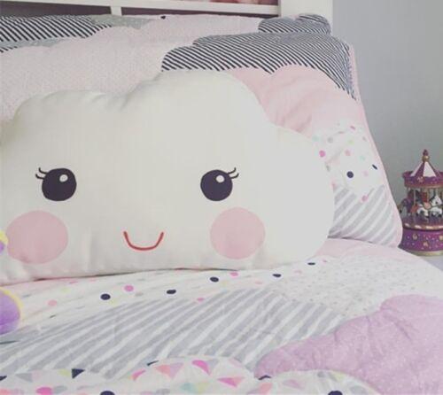 Cute Doll Pillow Cartoon Cloud Shape Sofa Back Cushion Plush Toys Gifts for Kids