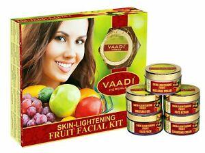 Vaadi-Herbals-Skin-Lightening-270-gm-5-92-oz-Fruit-Facial-Kit-Free-Ship