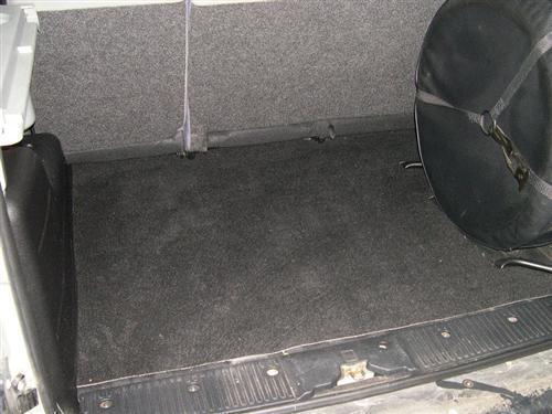 Passform Kofferraummatte für Renault Kangoo 4x4 Allrad