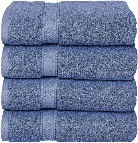 Bath Towels Set Grey Premium 600 GSM 100/% Ring Spun Cotton Details about  /Utopia Towels