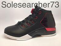 Air Jordan Retro 17 + Xvii Plus Black/gym Red Us Mens Shoe Sizes 832816-001