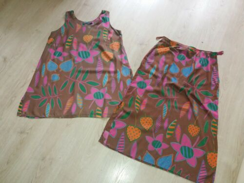 GUDRUN SJODEN top&skirt set size M