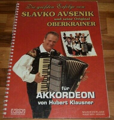 Akkordeon Noten Slavko AVSENIK 20 Welterfolge JUBILÄUMSAUSGABE mittelschwer