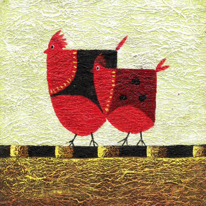 3D Cartoon Henne 865 Tapete Tapete Tapete Wandgemälde Tapete Tapeten Bild Familie DE Summer | Gewinnen Sie das Lob der Kunden  905298