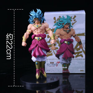 Dragon-Ball-Z-Broly-Super-Saiyan-PVC-Action-Figure-DBZ-22cm-Consegna-48-ore
