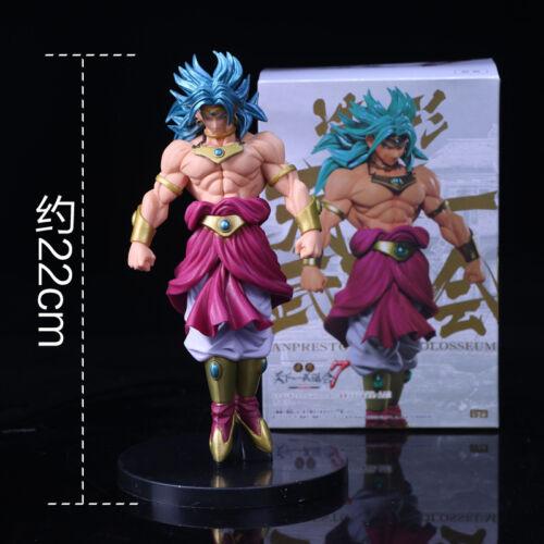 Dragon Ball Z Broly Super Saiyan PVC Action Figure DBZ 22cm