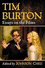 Tim Burton: Essays on the Films, Johnson Cheu, New Book