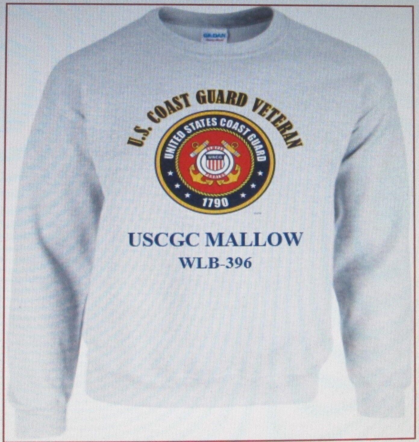 USCGC MALLOW  WLB-396  COAST GUARD VETERAN SWEATSHIRT