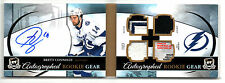 2011-12 The Cup Brett Connolly Rookie Gear Auto Tag Fight Strap Patch 7/25
