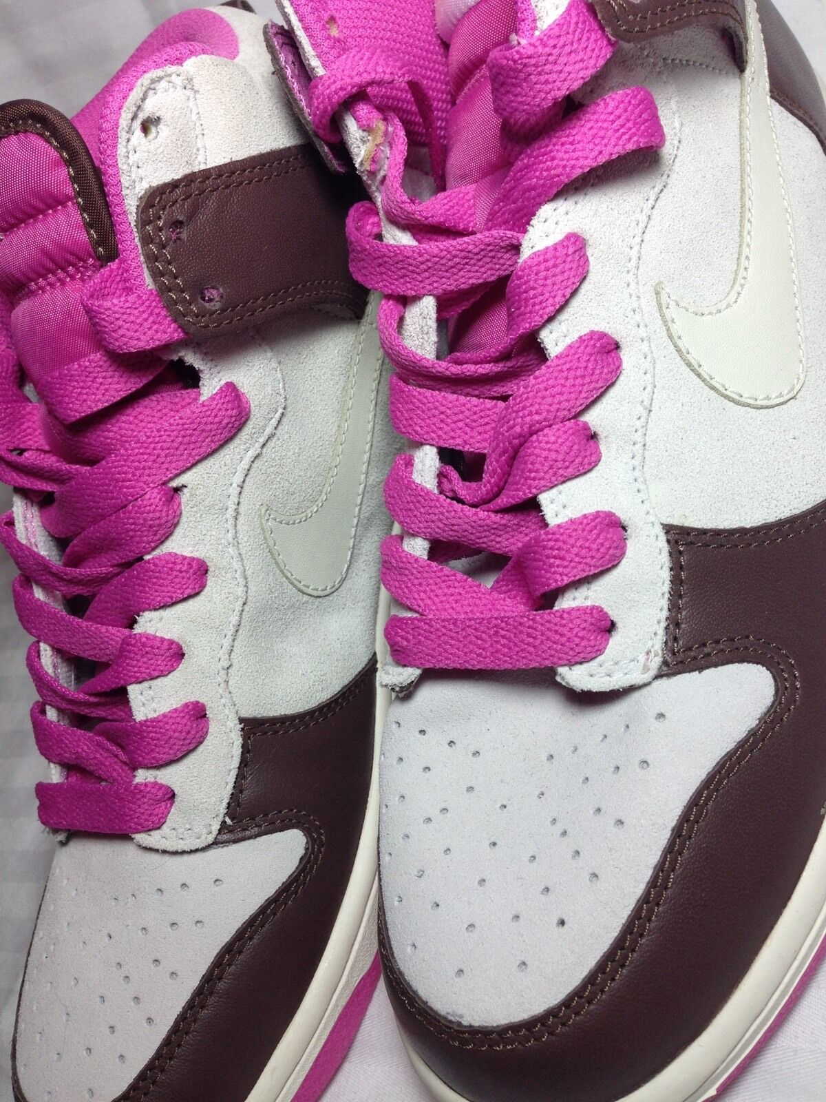 Nike Dunk High White Sail, Women's Size 9, New, Just Do It