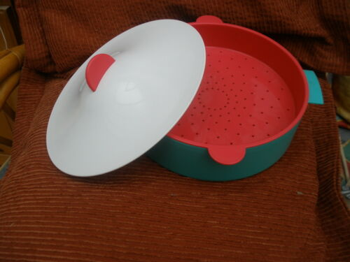 TUPPERWARE CRYSTALWAVE MICROSTEAMER GOOD USED CONDITION