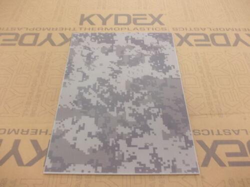 FONDINA-GUAINA nominale 3 mm A4 Kydex T foglio 297 mm x 210 mm URBAN DIGI-CAM