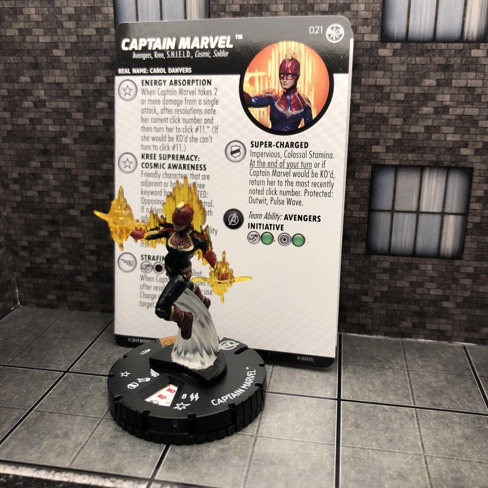 HEROCLIX Captain Marvel Movie CHASE
