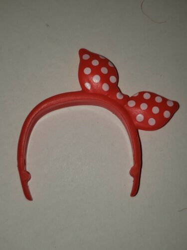 NEW RED /& WHITE POLKA DOT HEADBAND for Barbie doll ACCESSORY