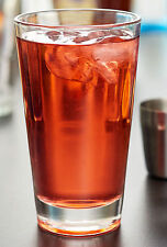 Scatola di 24 Bicchieri Impilabili bulk pack impilabile Juice Drink TAZZE di vetro