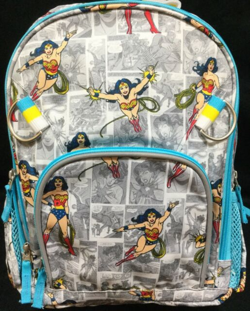 Pottery Barn Kids Wonder Woman Small Backpack Ebay