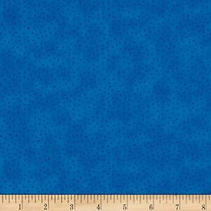 Down-Town-Kitty-Blue-Dots-Calico-Stof-100-cotton-fabric-by-the-yard
