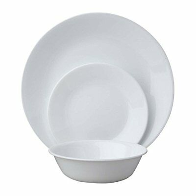 1 NEW Corelle WINTER FROST WHITE Choose DIVIDED DINNER or  LUNCH PLATE Picnic